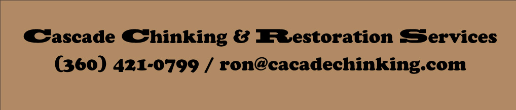 Cascade Chinking & Restoration logo