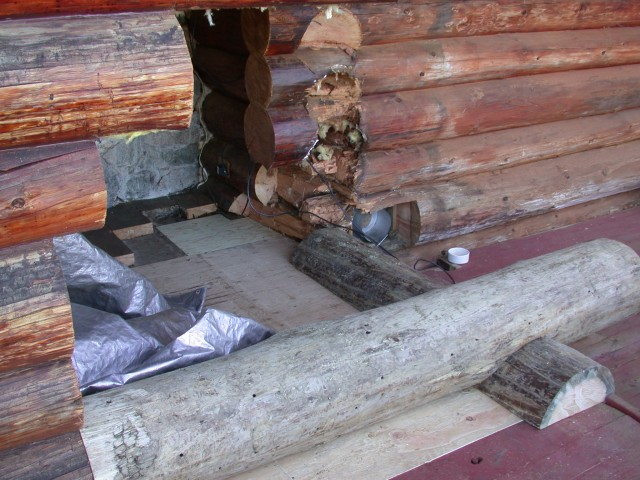 Log restoration project 41