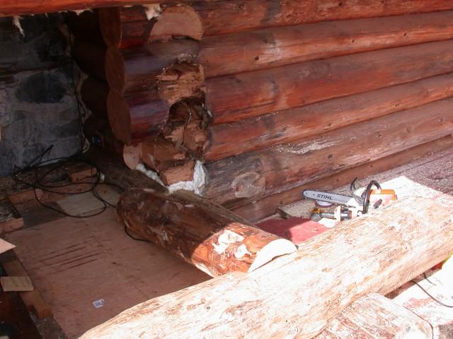 Log restoration project 40