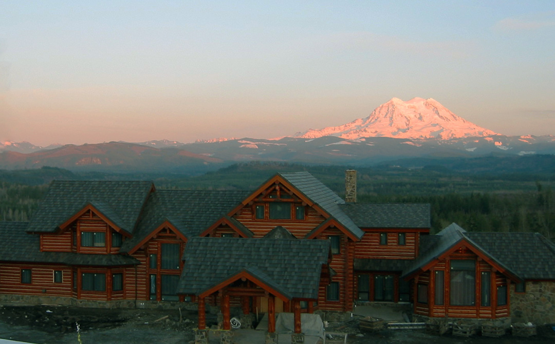 Large Log Home Project